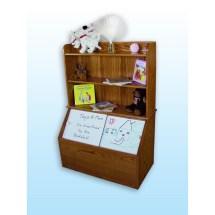 Toy Box Bookshelf - Amish Crafted Furniture