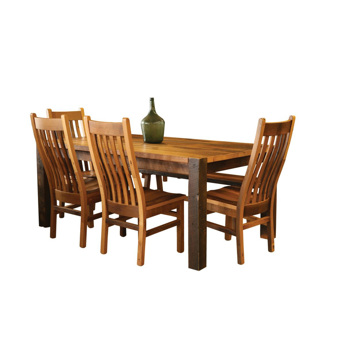 barnwood dining room chairs hammock chair stand instructions timber ridge table amish crafted furniture