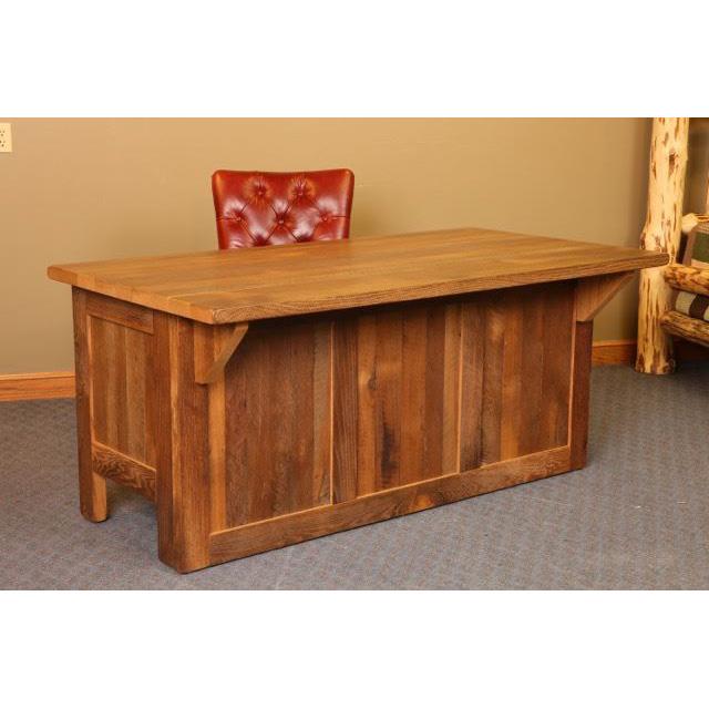 Barn Wood Mission Desk  Amish Crafted Furniture