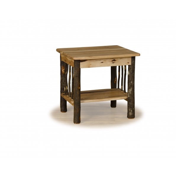 amish built sofa tables cushion replacement foam minneapolis hickory end table crafted furniture