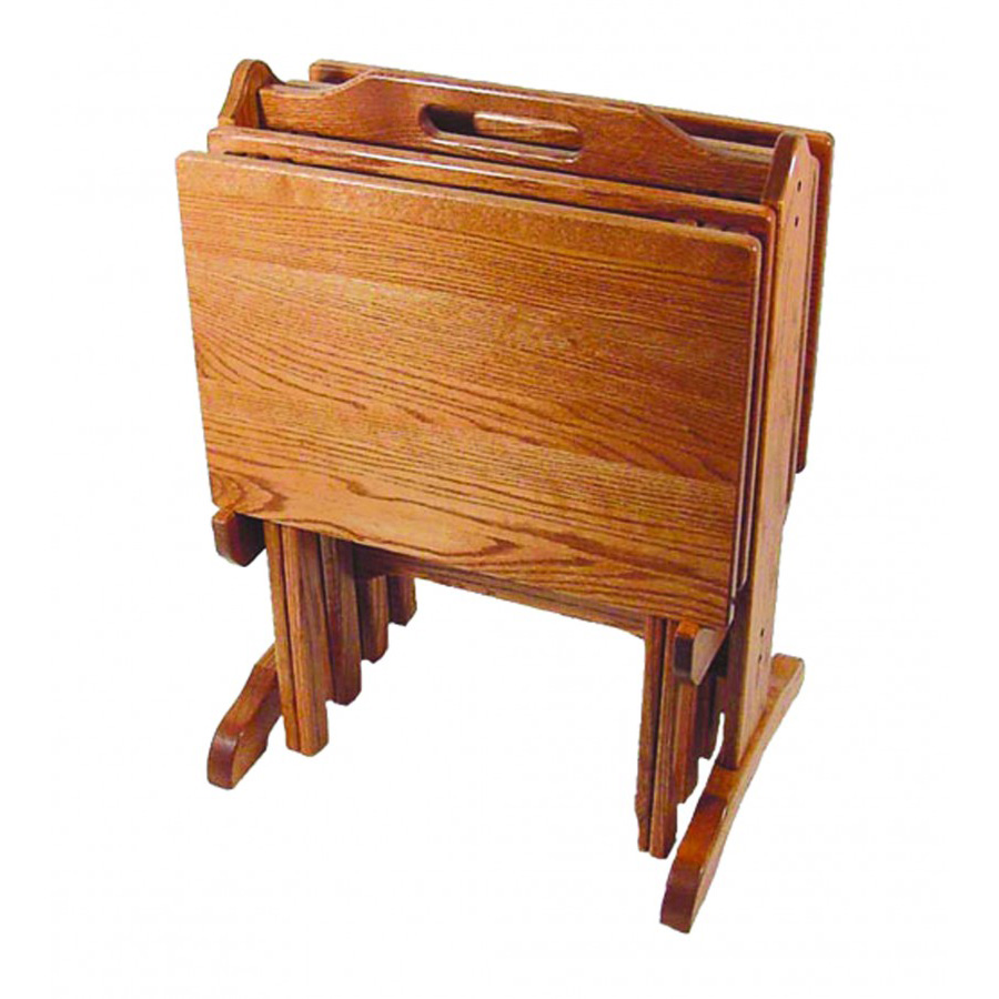 TV Tray Set Amish Crafted Furniture