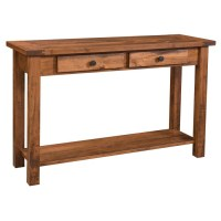 Farmhouse Collection Sofa Table - Amish Crafted Furniture
