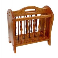Floor Magazine Rack - Amish Crafted Furniture