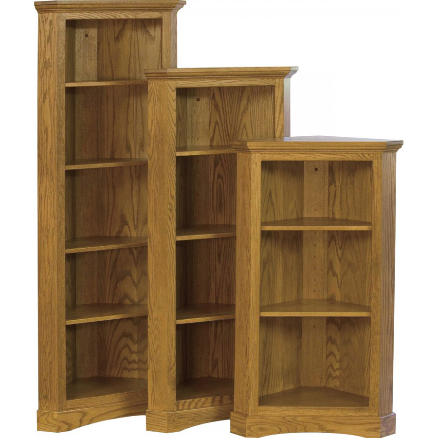 traditional living room furniture sets benches chimney corner bookcase - amish crafted