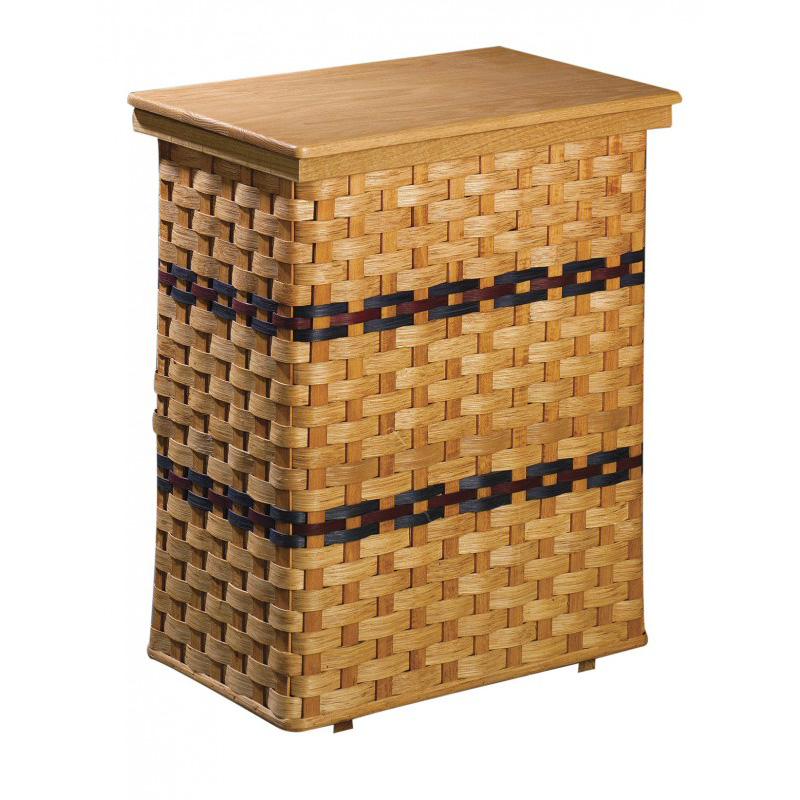 Hamper with Liner  Amish Crafted Furniture