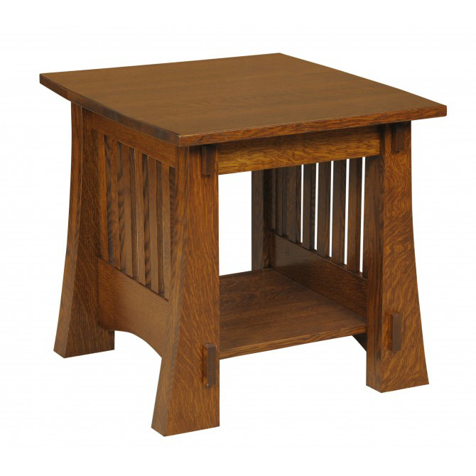 craftsman style chairs ikea kids rocking chair mission 88 end table - amish crafted furniture