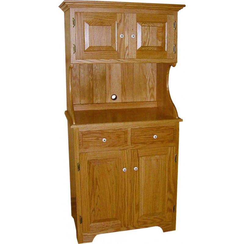 Large Microwave Cabinet Amish Crafted Furniture