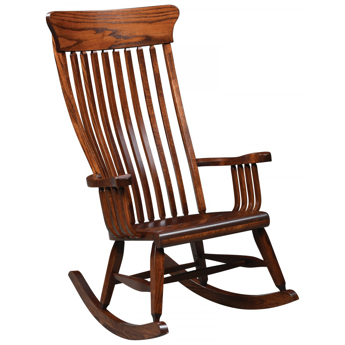 handmade rocking chairs mickey mouse recliner chair uk old south rocker amish crafted furniture
