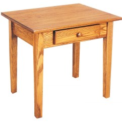 Mission Sofa Table Mcguire Shaker End - Amish Crafted Furniture