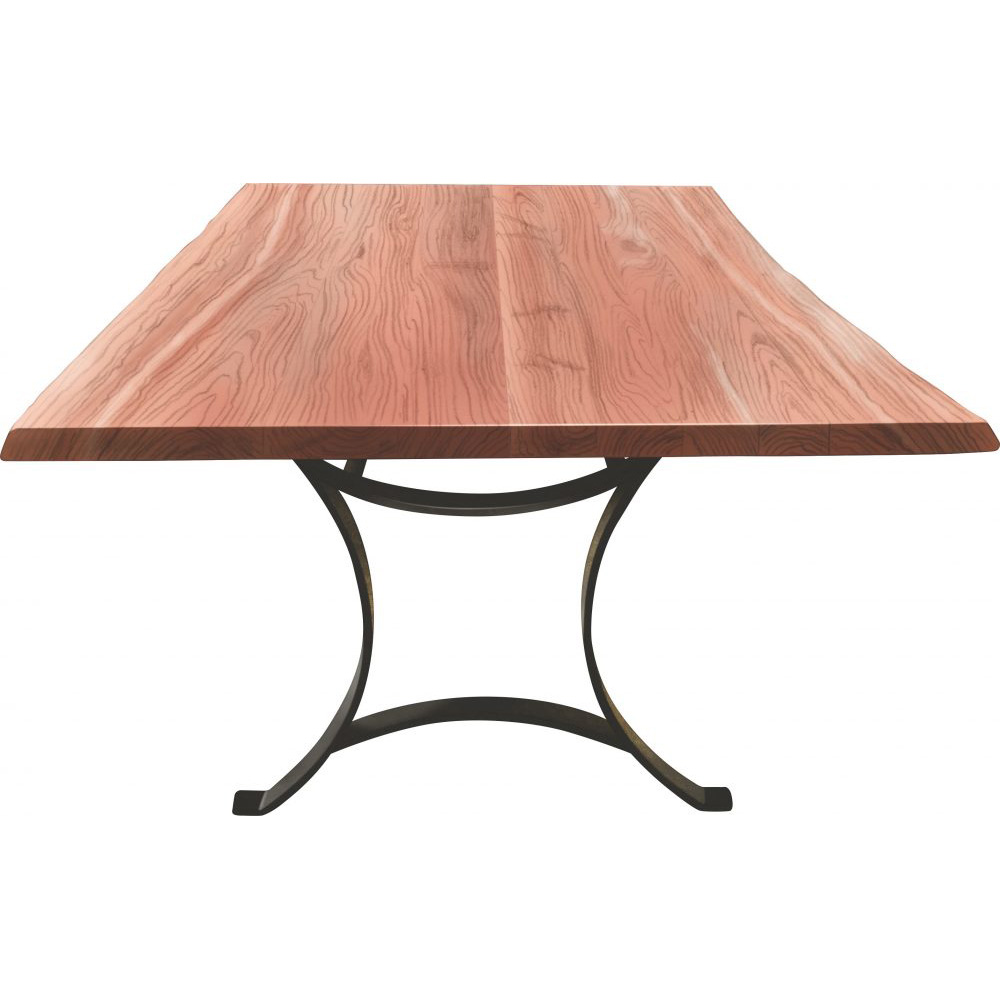 Master Live Edge Dining Table Amish Crafted Furniture