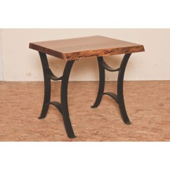 Kitchen Pub Sets Shelves Ideas Master Collection Live Edge End Table - Amish Crafted ...