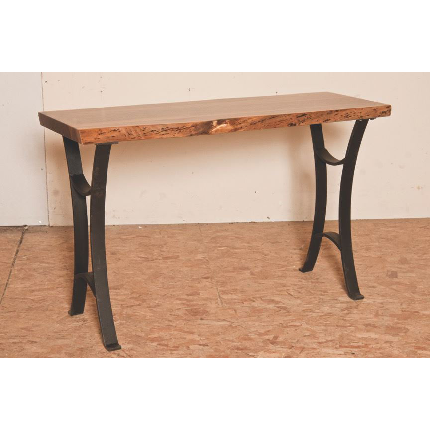 Master Collection Live Edge Sofa Table  Amish Crafted