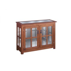 Colonial Sofa Sets How To Decorate A Red Living Room Curio Cabinet Two Door - Amish Crafted Furniture