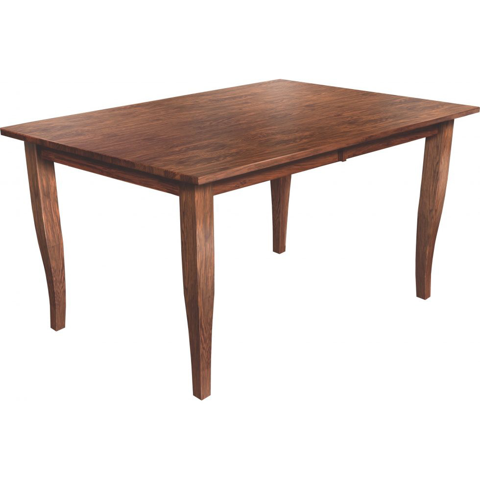 Curve Shaker Table 42x72 Amish Crafted Furniture