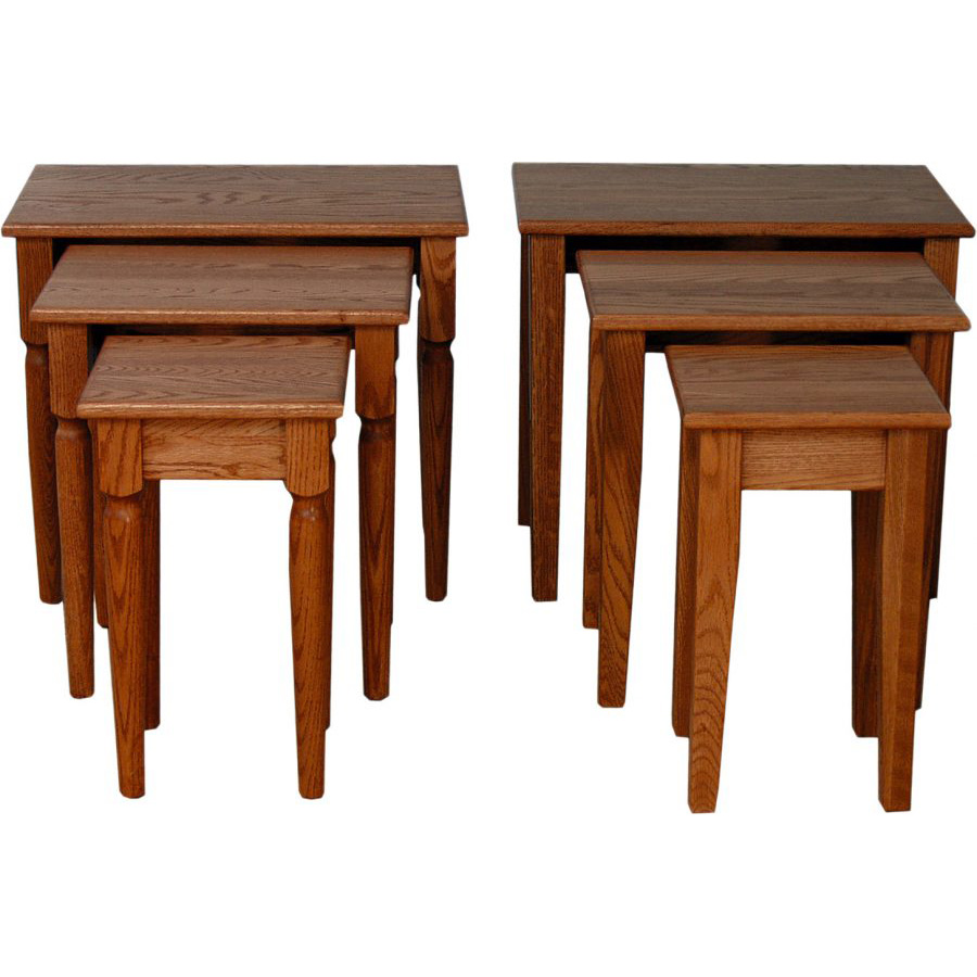 Nesting Tables Amish Crafted Furniture