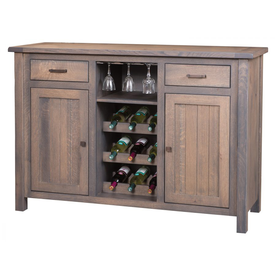 Adele Wine Cabinet 355  Amish Crafted Furniture