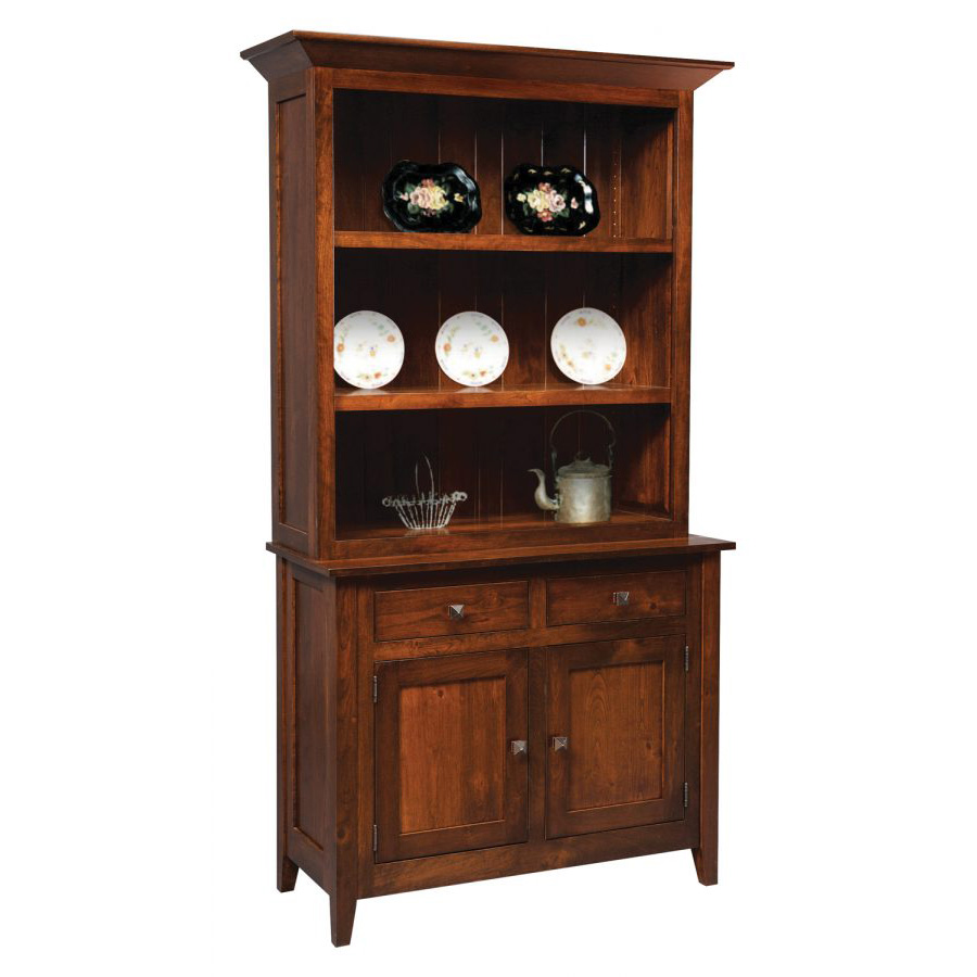 Settlers Ridge Collection 2 Door Hutch Amish Crafted Furniture