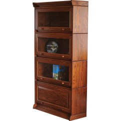 Kitchen Pub Sets And Bathroom Showrooms Barrister Stackable Bookcase - Amish Crafted Furniture