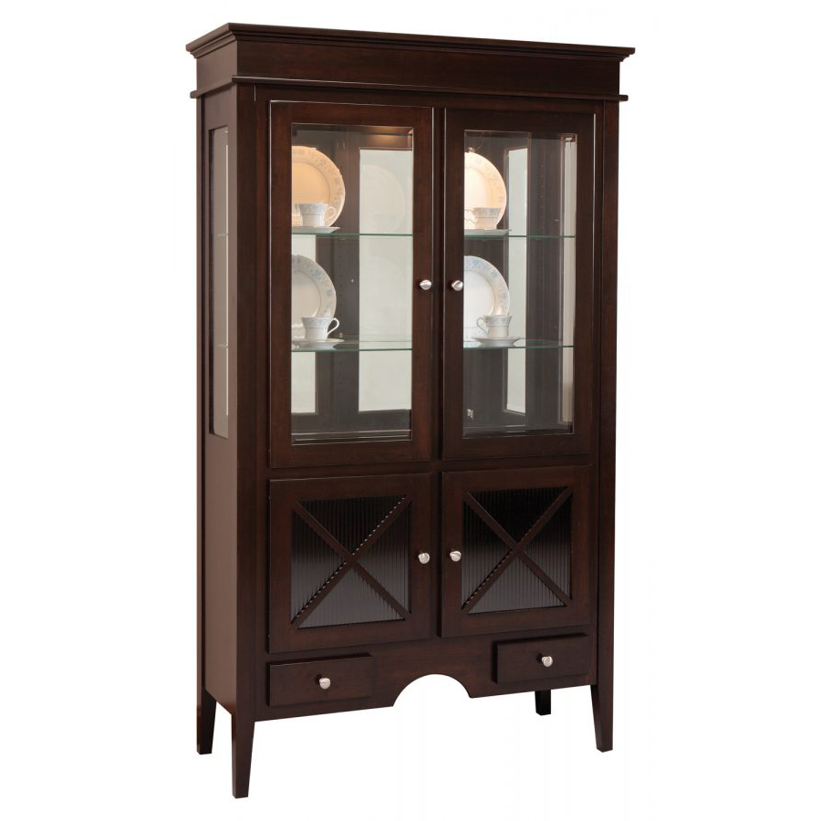 Blakely Collection 2 Door Hutch Amish Crafted Furniture