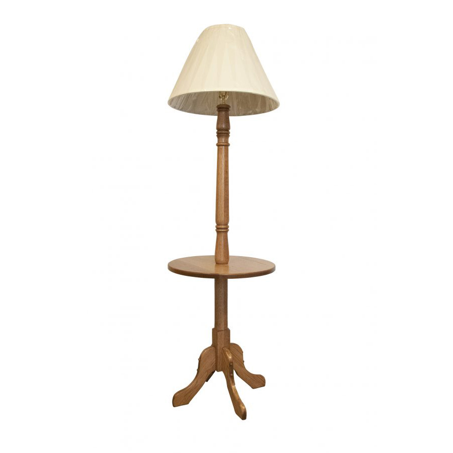 oak kitchen tables rustic lighting fixtures lamp table - amish crafted furniture
