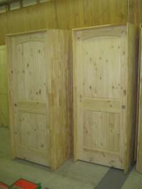 Pine Doors Stained & Rustic Pine Pantry Doors