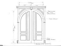 Round Top Interior Doors and Exterior Entryway Doors ...