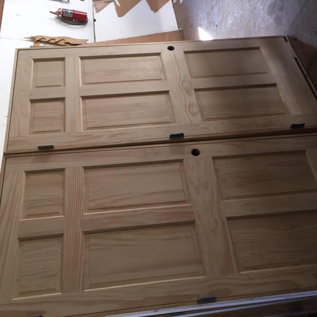 wp six panel unfinished doors