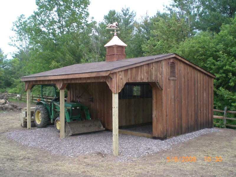 Maryland Amish Horse Barns Shed Row Barns RunIn Sheds