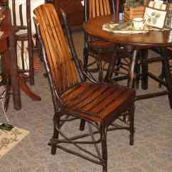Rocking Game Chair Plastic Covers For Recliners Rustic Hickory And Brown Maple Side Chair, Shown In Hickory/brown With An Asbury ...