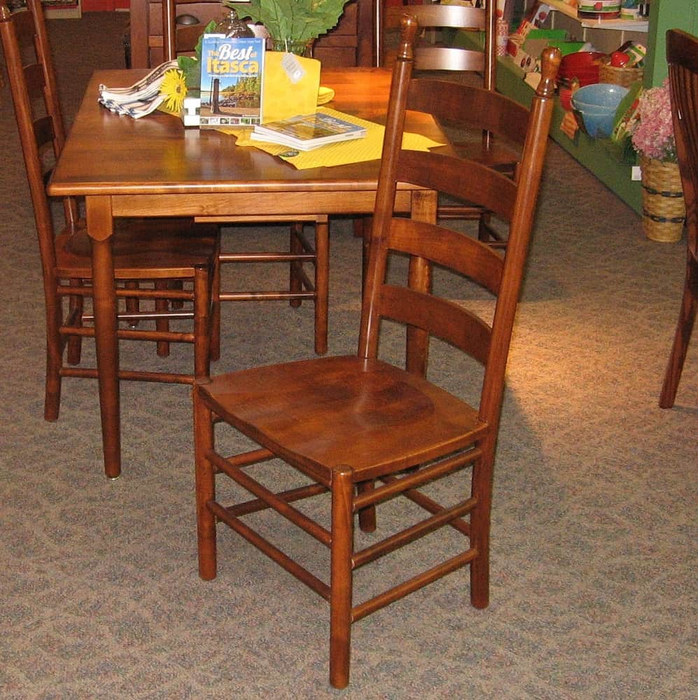 maple kitchen table cabinets clearance 36 x 48 colonists brown dining with 2 12 inch leaves