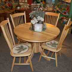 Hickory Dining Room Chairs Office Chair Seat Cushion 42 Quot Round Tribeca Table With 4 Easton