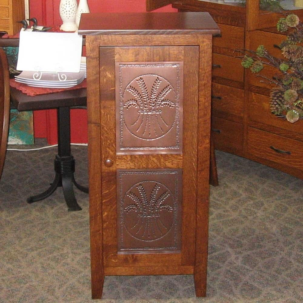 oak kitchen table and chairs under cabinet lighting shaker pie safe - amish