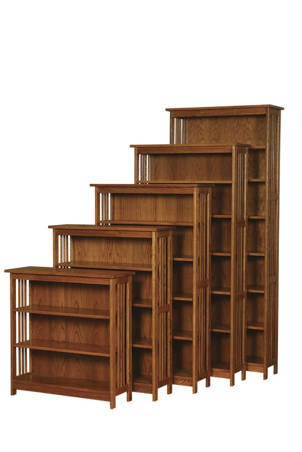 Mission Style Bookcase Furniture