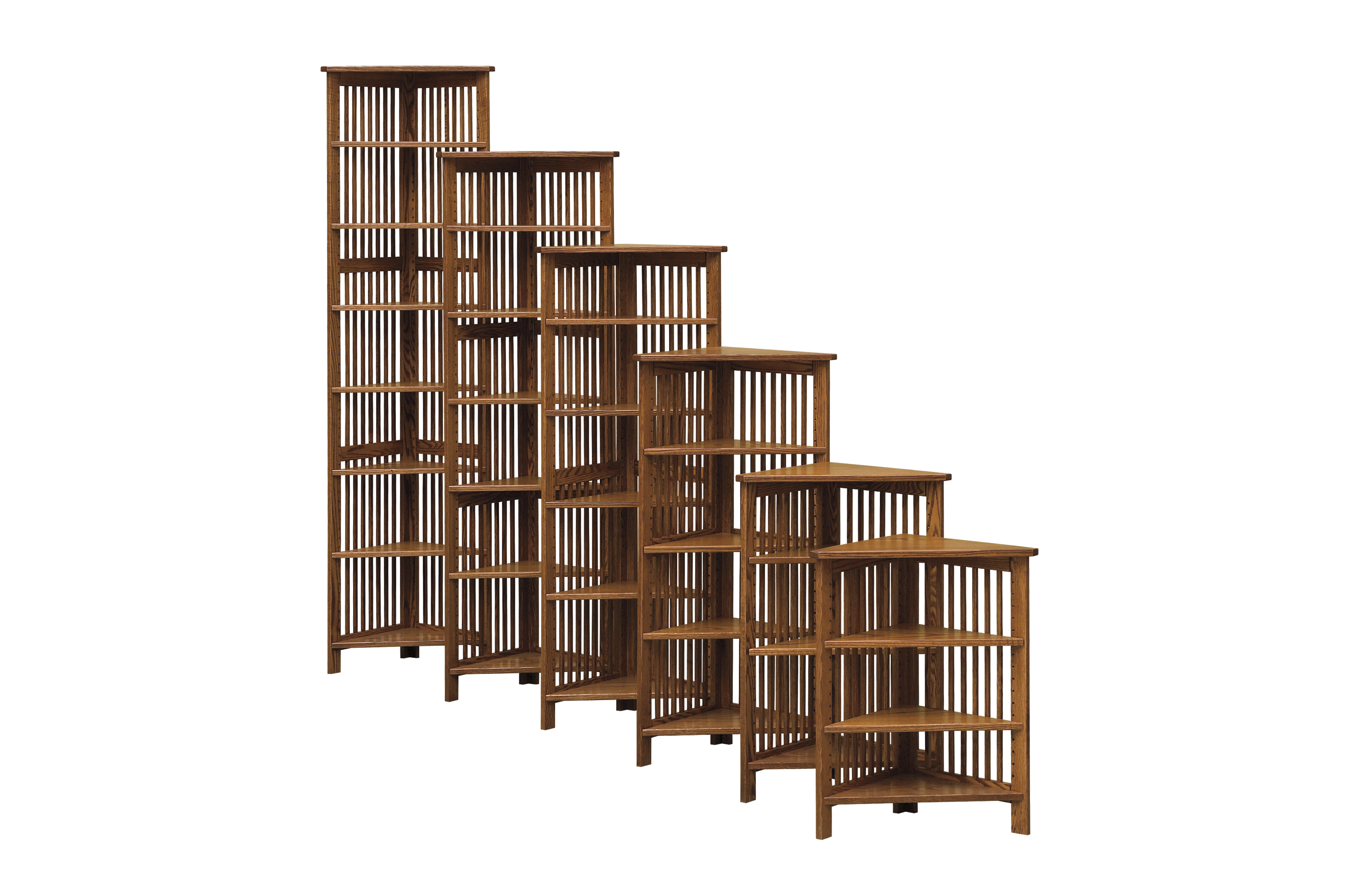 24 Quot W Corner Bookcase Amish Furniture Connections Amish