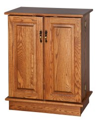 CD/DVD Cabinet - Amish Furniture Connections - Amish ...