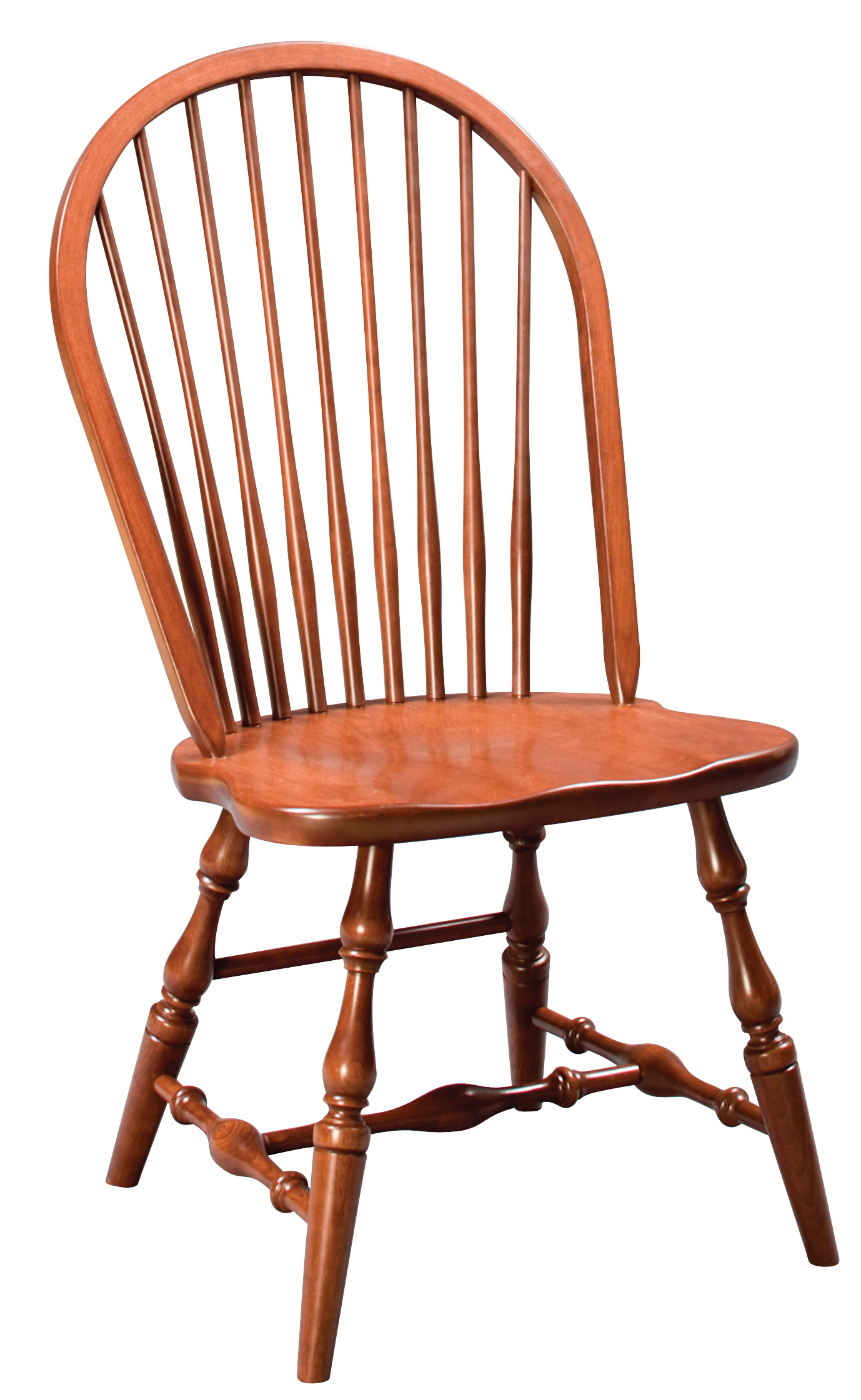 New England Windsor Side Chair  Amish Furniture
