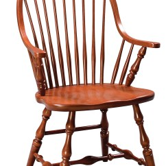 Windsor Chair With Arms Fabric Parsons Chairs Eh New England Arm Amish Furniture