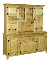 Large Hoosier Cabinet - Amish Furniture Connections ...