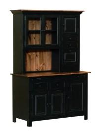 Medium Hoosier Cabinet - Amish Furniture Connections ...