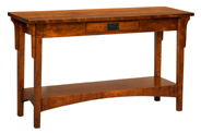 amish built sofa tables china factory console for sale furniture arts crafts mission table