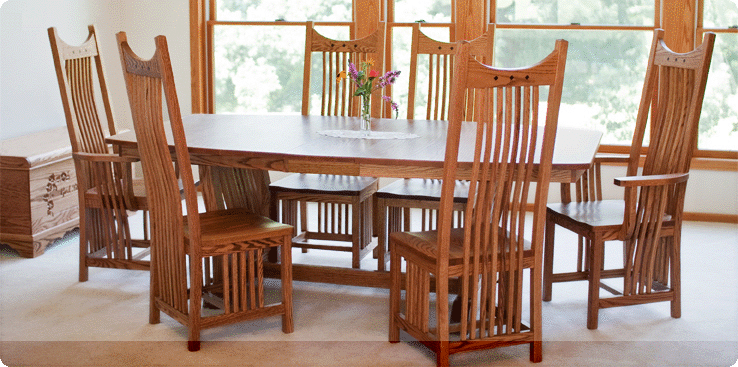 amish kitchen tables seat covers made handmade wood furniture factory