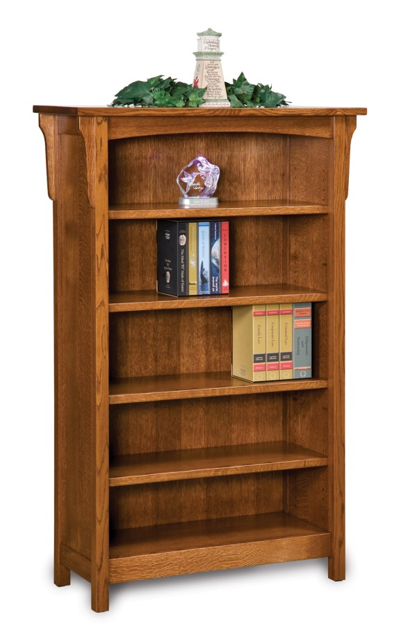 Amish Mission Style Bookcase