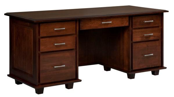 Solid Wood Computer Desks for Home Office