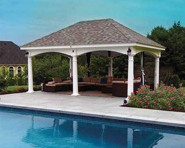 amish country gazebos outdoor