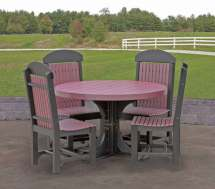 Amish Recycled Plastic Outdoor Furniture