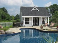 Custom Pool Houses - Amish Mike- Amish Sheds, Amish Barns ...