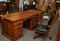 Desk 110 - The Amish Connection | Solid Wood Furniture ...