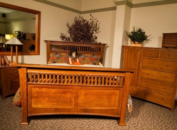 Amish Bedroom 1100  The Amish Connection  Solid Wood