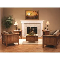 Living Room Set Shaker Furniture Made in USA Builder60
