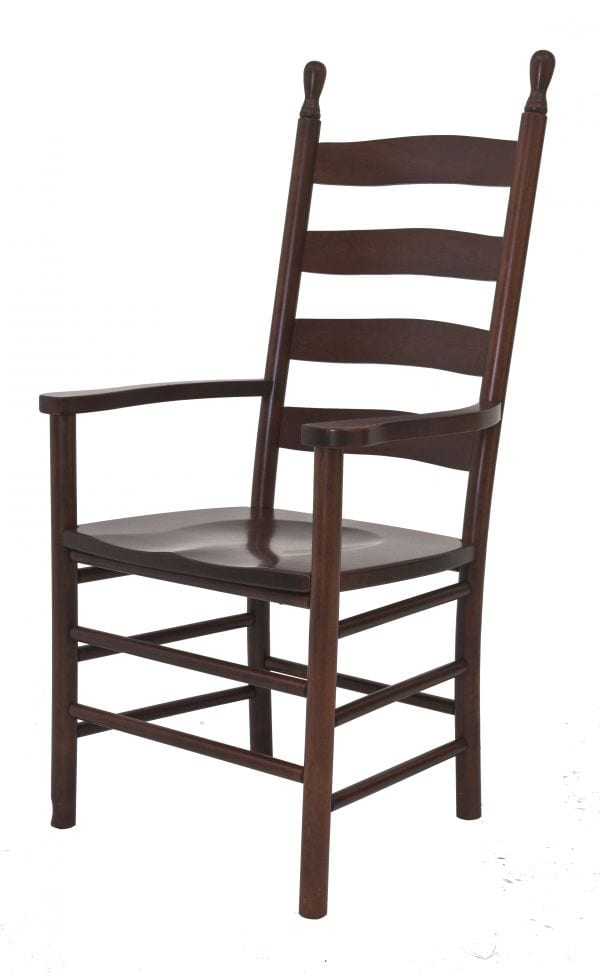 shaker ladder back chair tall yard chairs amish originals